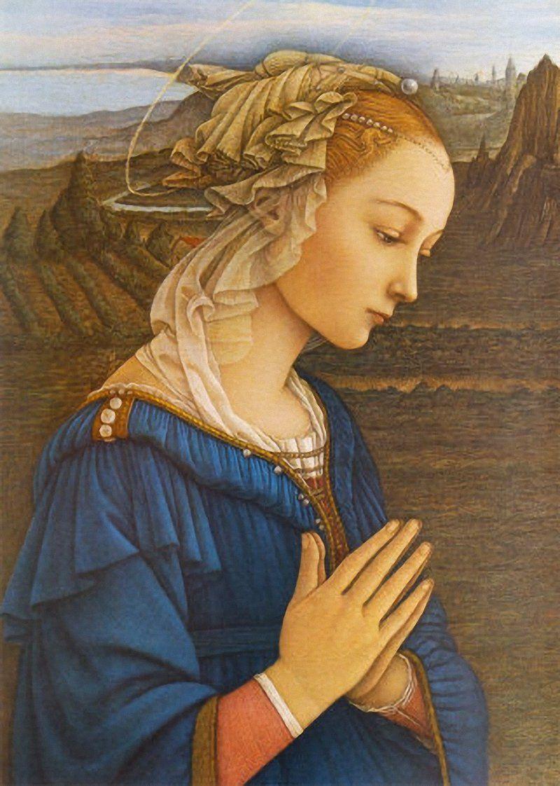 """""""La Vergine delle Rocce"""", uno dei capolavori di Filippo Lippi cui San Marino dedicherà la seconda 2 euro 2019"""