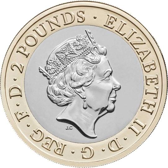 Il ritratto di Elisabetta II sul dritto della moneta: un classico intramontabile