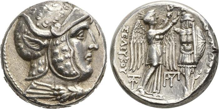 Dioniso il dio dell'estasi - Seleucus I. Tetradramma, Susa, 305-295 a.C.