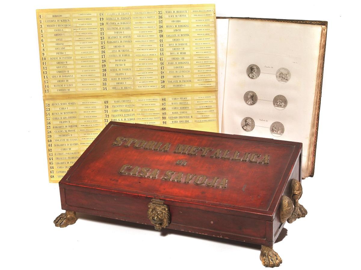 Tutta la storia di Casa Savoia fino ad Umberto I raccontata in una serie di affascinanti medaglie