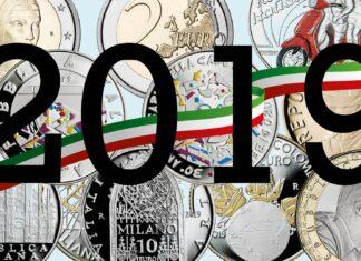 Tutte le monete italiane del programma 2019