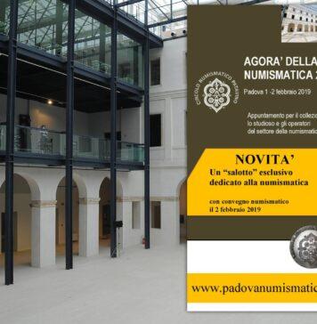 Il Circolo Numismatico Patavino presenta l'Agorà della numismatica 2019