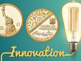 Inaugurata la mega serie numismatica per gli innovatori a stelle e strisce