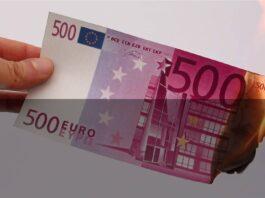 Dal 27 gennaio stop alla stampa dei 500 euro