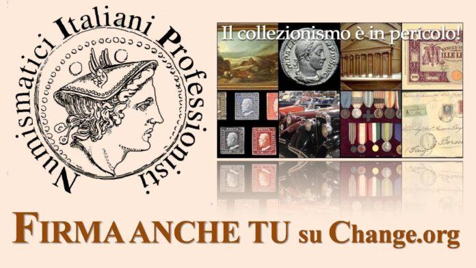 petizione dei Numismatici Italiani Professionisti