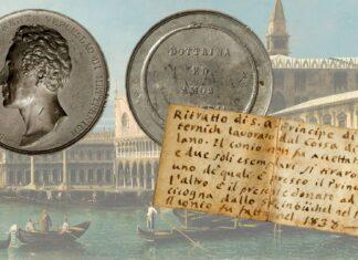 """una medaglia """"fantasma"""" ritrovata per il principe di Metternich"""
