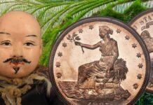 """Il """"trade dollar"""" più raro e bello venduto da Heritage per 3,96 milioni"""