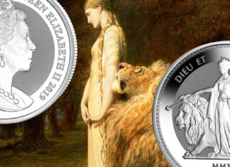 """Una and the Lion"" rivive nell'argento grazie a Pobjoy Mint"