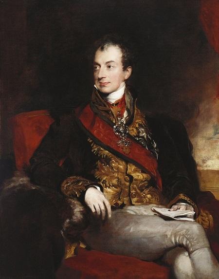 Fgi. 1. 1815. Thomas Lawrence, Ritratto del principe di Metternich (Vienna, Kunsthistorisches Museum)