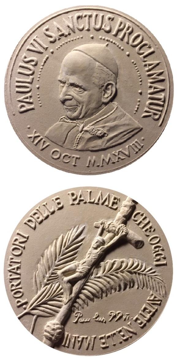 I gessi originali da cui sono stati tratti, nelle officine Picchiani & Barlacchi, fusioni, punzoni e conii per la realizzazione della medaglia