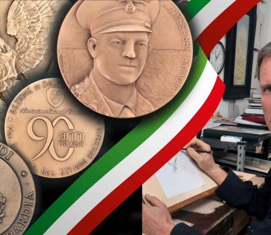 due medaglie a firma Oldani