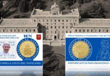 Tondelli & dentelli inaugurano a braccetto l'anno collezionistico del Vaticano