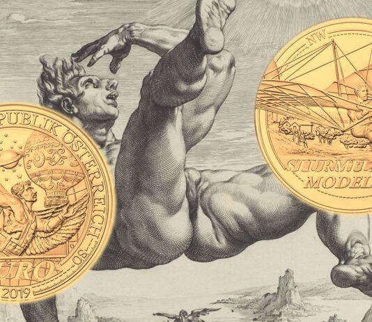 Da Icaro alla Luna con cinque nuove monete d'Austria