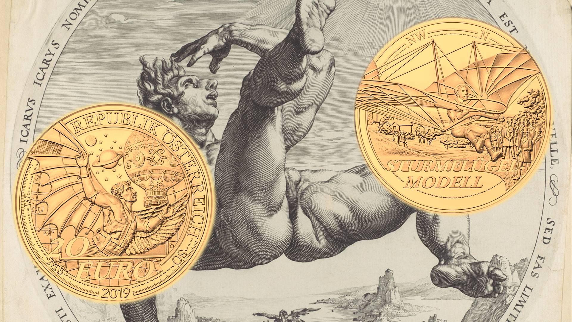 Icaro D'austriaLeggi Nuove Ora Alla Monete Cinque Luna La Da Con 54q3AjcSRL