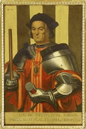 Ritratto di Gian Giacomo Trivulzio con le insegne di maresciallo di Francia