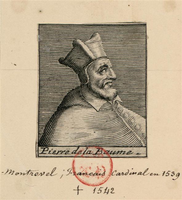 Il vescovo Pierre de la Baume, cacciato da Ginevra nel 1533 per le sue troppo accentuate simpatie filo sabaude