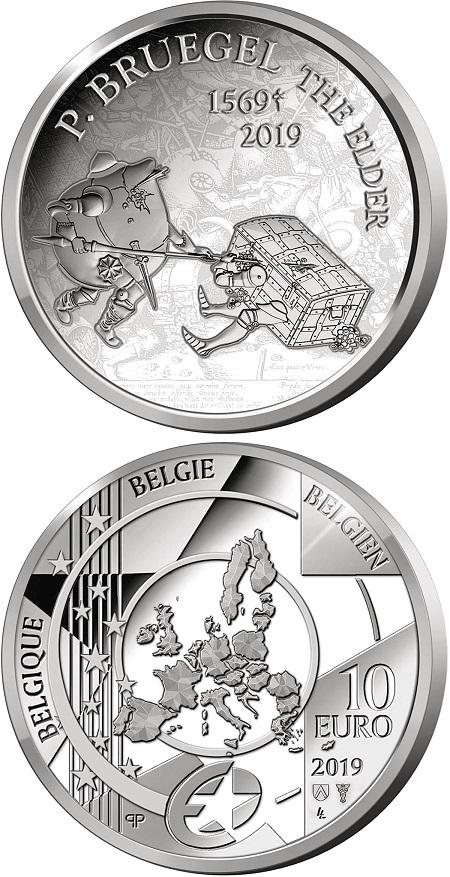 Originale e ironica questa battaglia tra un salvadanaio ed un forziere sui 10 euro