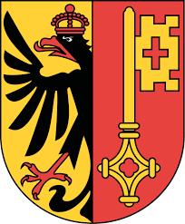 Lo stemma araldico di Ginevra