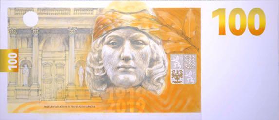 Due speciali banconote per il secolo della corona cecoslovacca