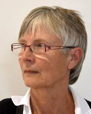 La pittrice Eva Hašková, autrice dei bozzetti vincenti