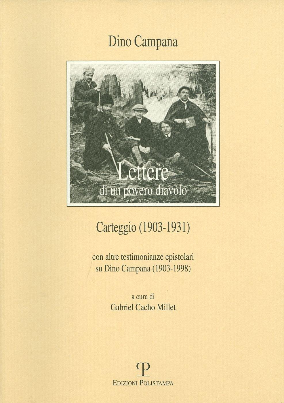 """L'epistoriario del poeta Dino Campana, per un periodo amante della Aleramo, in cui si """"svela"""" la poetessa come modella del Bistolfi per il ritratto dell'Italia"""