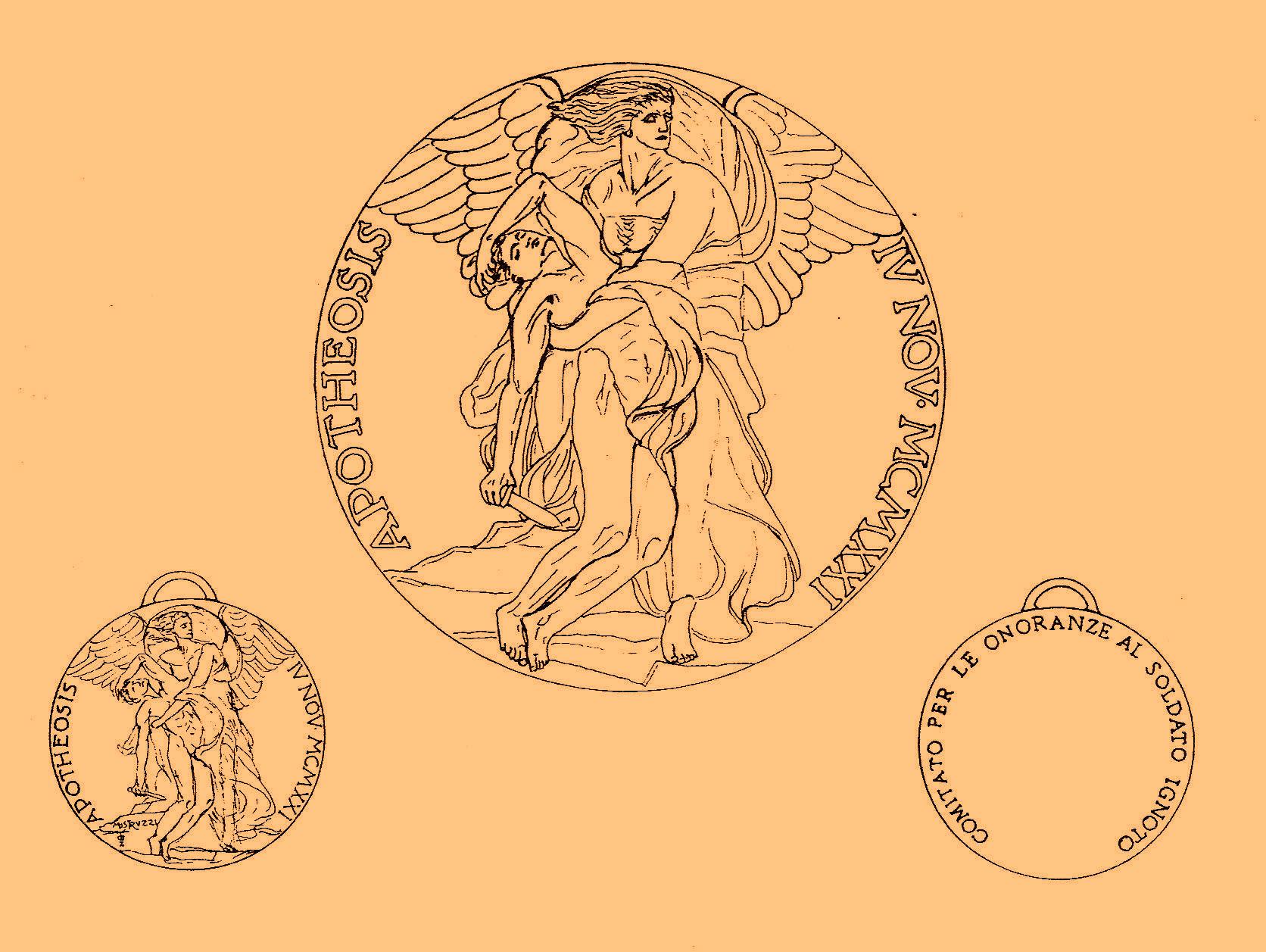 Fig. 4 | Medaglia ricordo del Comitato Esecutivo per le Onoranze (opus Mistruzzi)