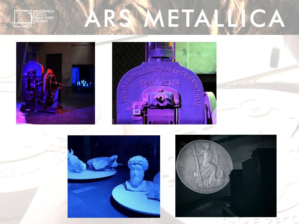 """La modernità dell'allestimento di """"Ars Metallica"""""""