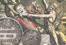 tra elemosina e dannazione, la ricchezza sulle monete dei papi