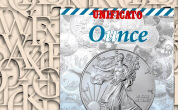 Ounce. New world silver coin catalogue OZ (Ag 999)