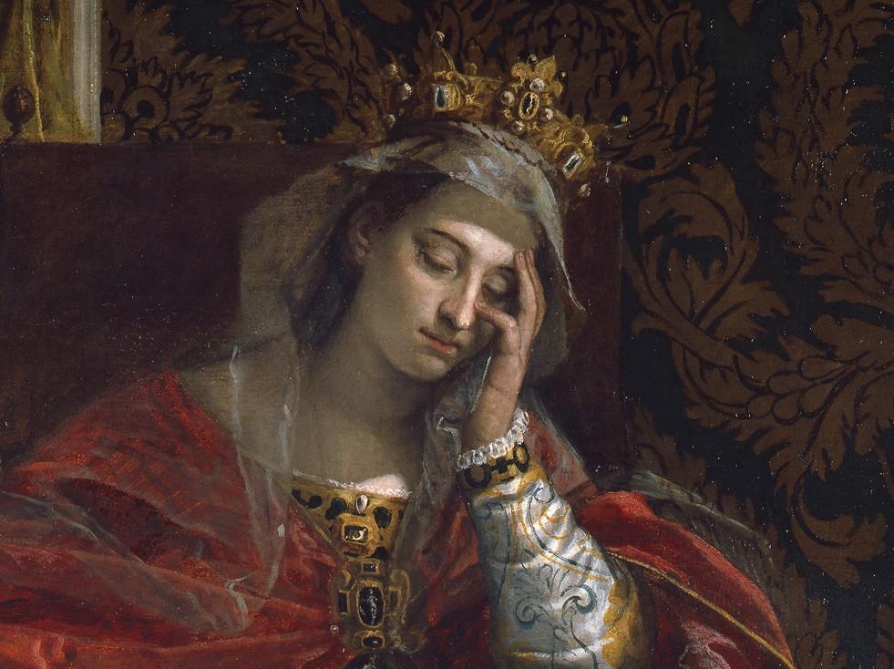 """Particolare della """"Visione di Sant'Elena"""" di Paolo Veronese dai Musei Vaticani"""