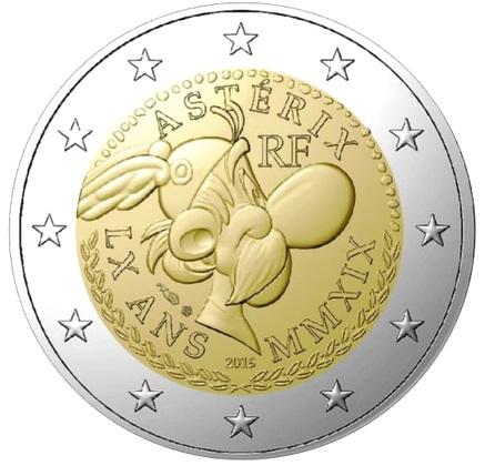 Sarà sicuramente un successo, vista la notorierà del personaggio, questa 2 euro di Francia per Asterix in uscita a maggio