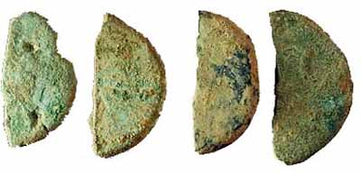 Esempi di monete romane frazionate per uso come sottomultipli, ma non solo...