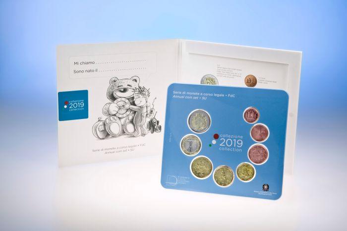La versione Bimbo della serie di monete di quest'anno completa di 1, 2 e 5 eurocent