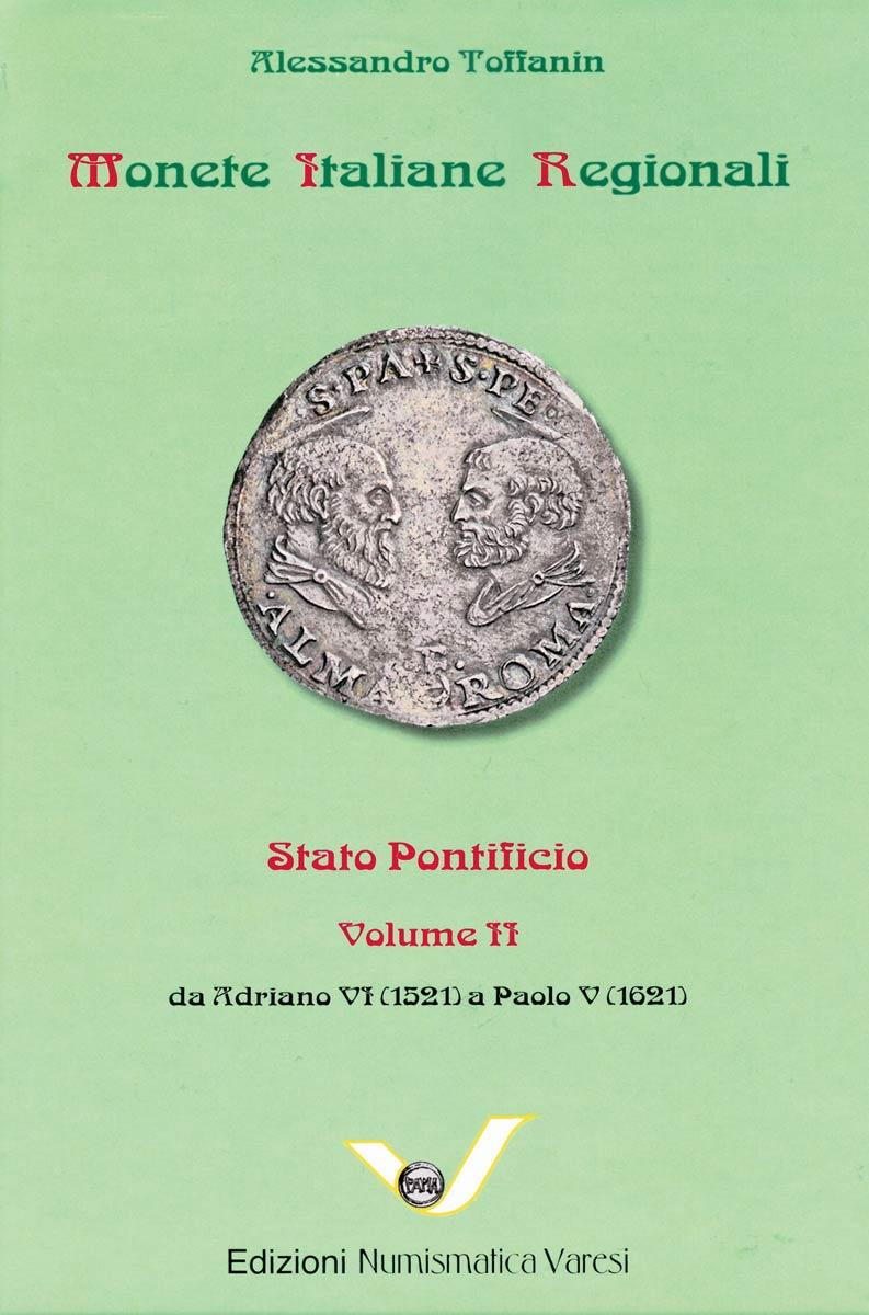 La copertina del secondo volume di Alessandro Toffanin dedicato alle monete pontificie