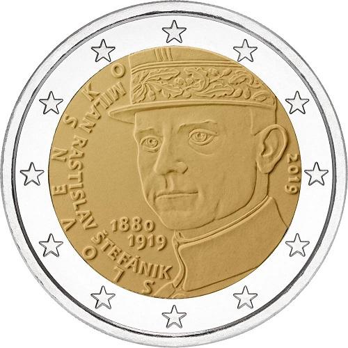 La 2 euro slovacca emessa il 25 aprile
