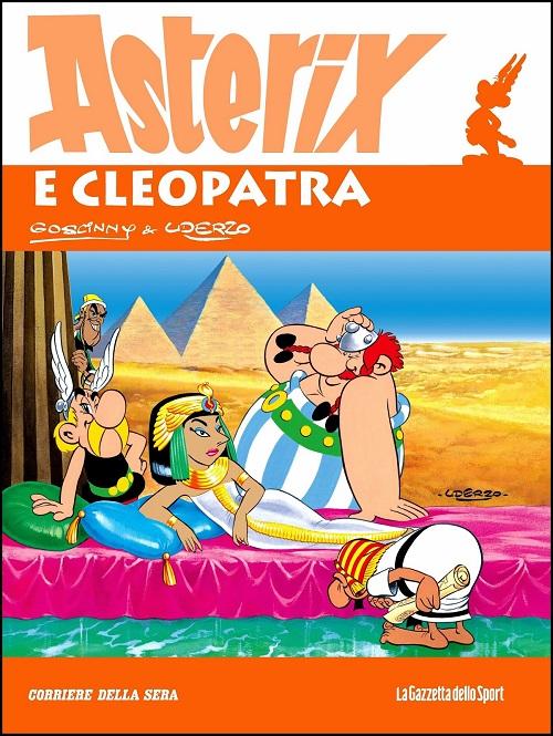 Pubblicato in tutto il mondo, Asterix vanta appassionati anche in Italia: ecco una delle più celebri copertine uscite nel nostro paese