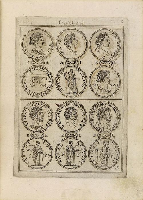 Antonio Agustín, Discorsi del s. don Antonio Agostini sopra le medaglie et altre anticaglie, Roma, 1592 (Biblioteca Universitaria di Padova)