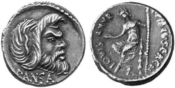 Caio Vibio Pansa (Crawford 449/1)