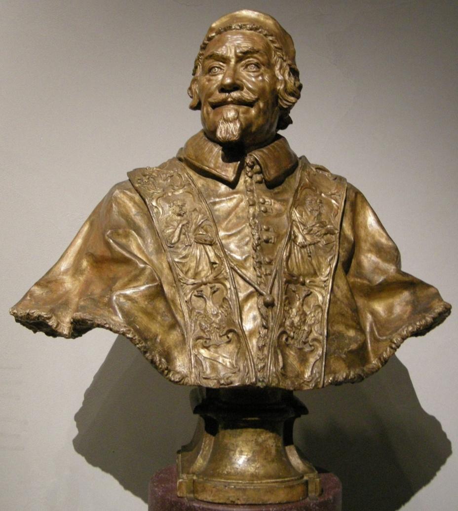 """""""Papa Alessandro VIII"""" di Domenico Guidi (1691, Victoria and Albert Museum, Londra)"""