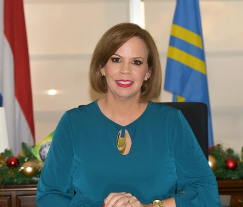 Evelyna Wever-Croes, primo ministro del paese caraibico. Ad Aruba la gran parte delle maggiori cariche eistituzionali è ricoperta da donne