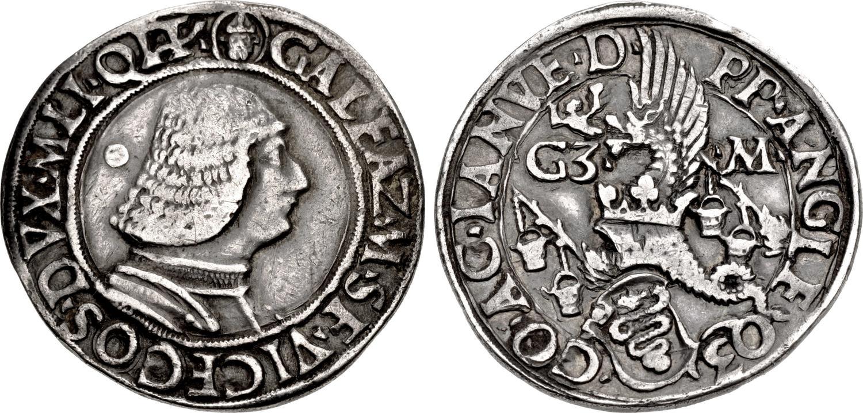Il primo tra i testoni del Rinascimento, quello milanese del 1474 circa