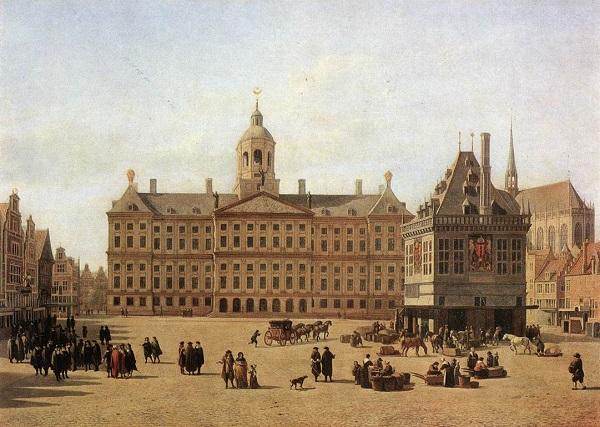 Amsterdam nel XVII secolo, ai tempi di Rembrandt: città florida, elegante, ricchissima
