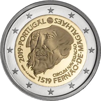 Ferdinando Magellano e quel primo viaggio attorno al mondo sono ricordati in moneta dal Portogallo