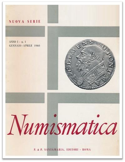 Una delle riviste edite da Santamaria e digitalizzate dalla SNI ad uso gratuito di tutti i numismatici
