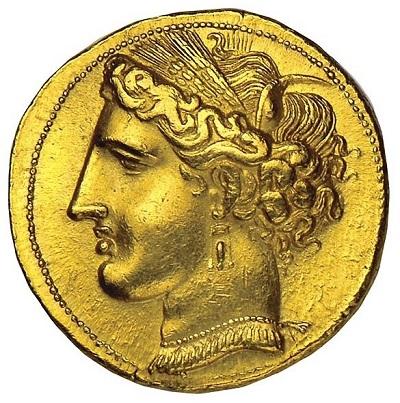 Raffinata, dal nobile profilo e dall'acconciatura perfetta: ecco la dea Tanit venerata a Cartagine