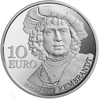 Omaggio al tormentato genio: eccone un autoritratto giovanile al rovescio dei 10 euro di San Marino appena emessi