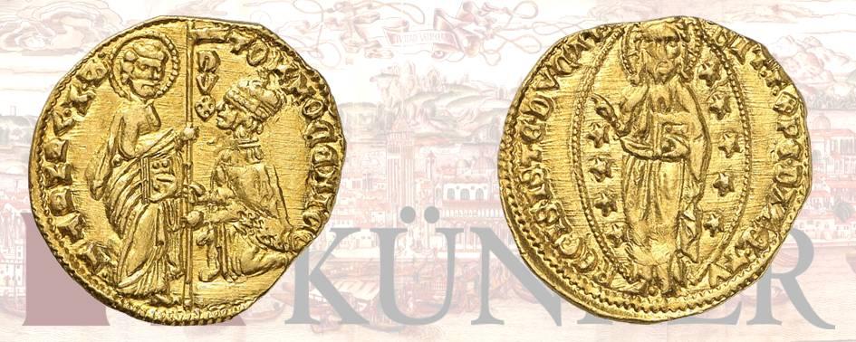 Tomaso Mocenigo, 1414-1423., Ducato, ND. Dall'asta Kuenker 324 (27 giugno 2019), numero 3148