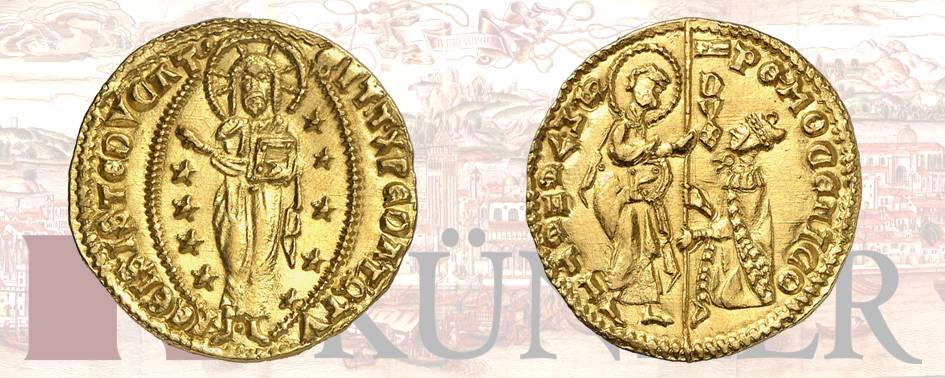 Pietro Mocenigo, 1474-1476. Ducato, ND. Dall'asta Kuenker 324 (27 giugno 2019), numero 3153