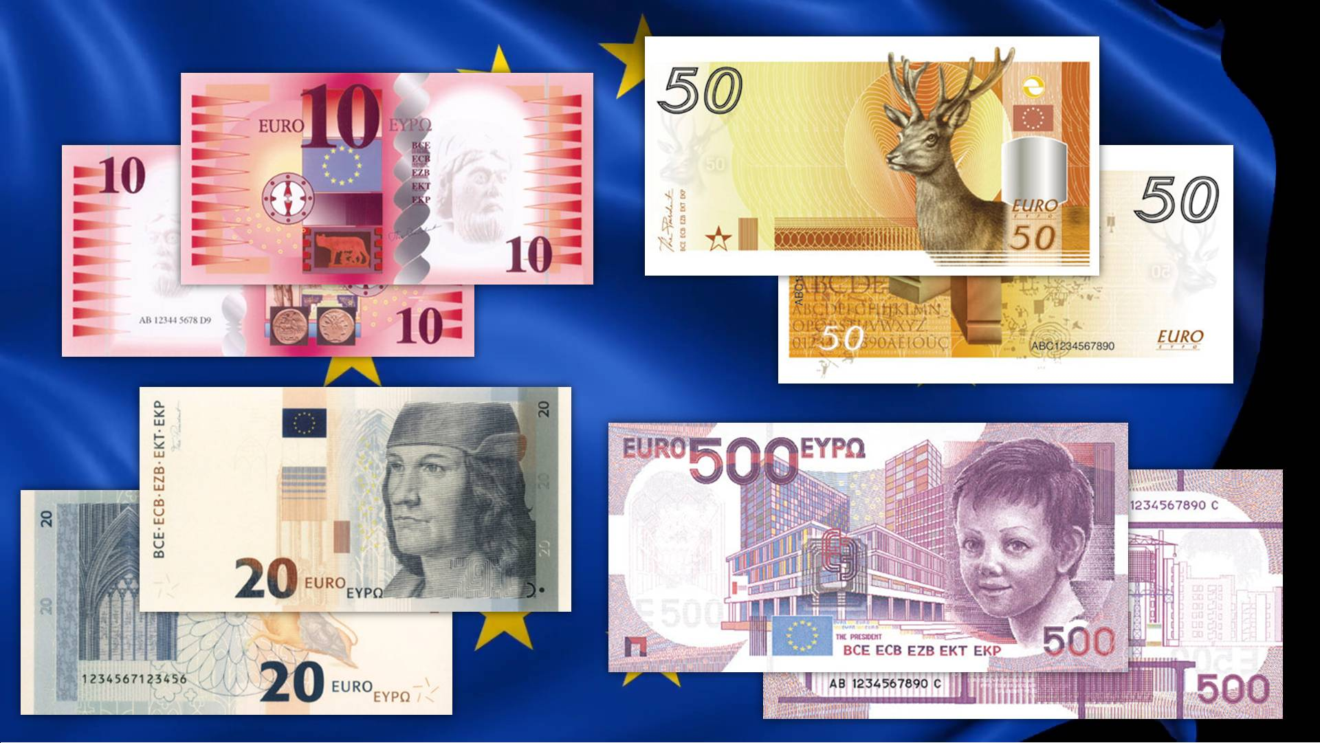 Quelle belle euro banconote che non videro mai la luce: ecco tutti ...