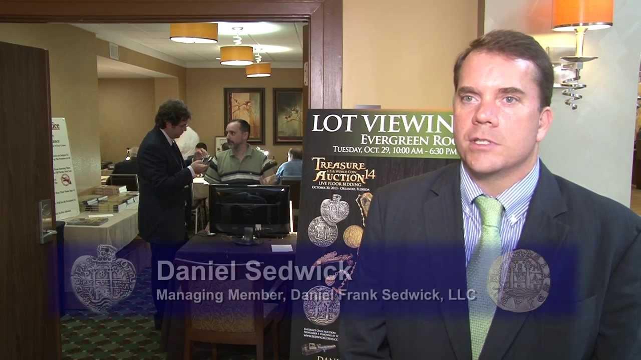 Daniel F. Sedwick, titolare dell'omonima ditta numismatica USA, è il nuovo presidente dell'AINP